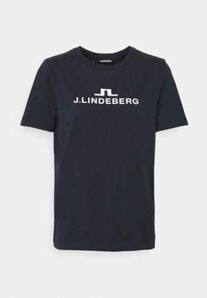 ALPHA  - T-shirt con stampa - navy