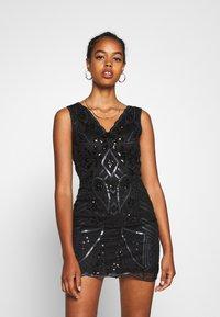 Molly Bracken - LADIES DRESS - Vestido de cóctel - black - 0