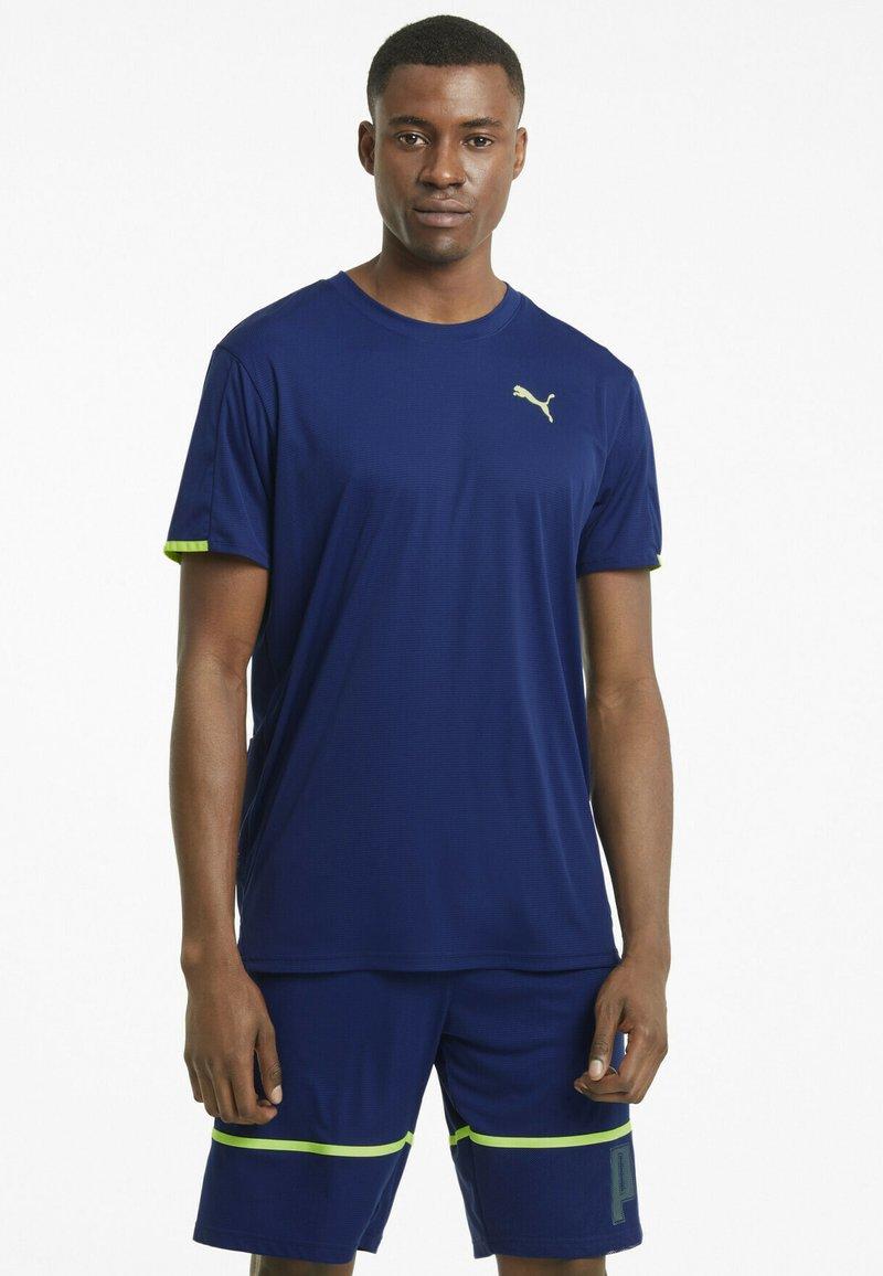 Puma - GRAPHIC  - Print T-shirt - elektro blue