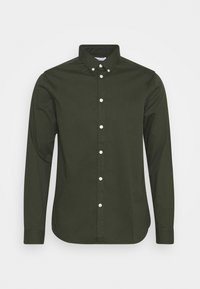 KnowledgeCotton Apparel - LARCH CASUAL FIT - Skjorta - forrest night - 0