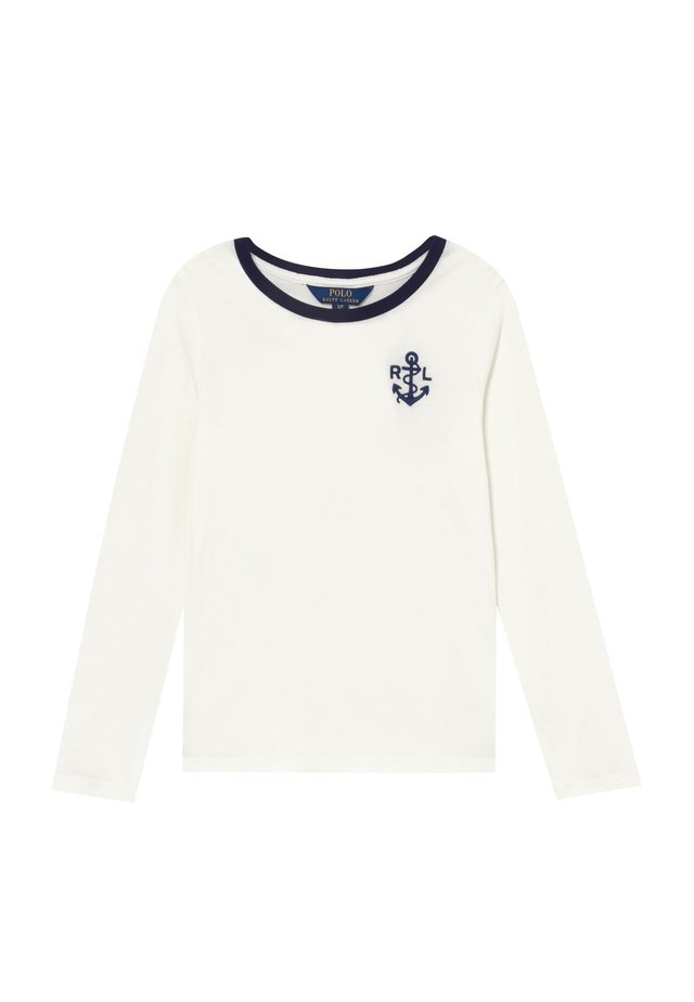 GRAPHIC - Long sleeved top - nevis