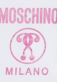 MOSCHINO - Printtipaita - optical white - 3