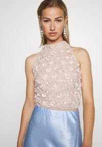 Lace & Beads - GUI - Bluser - nude - 3