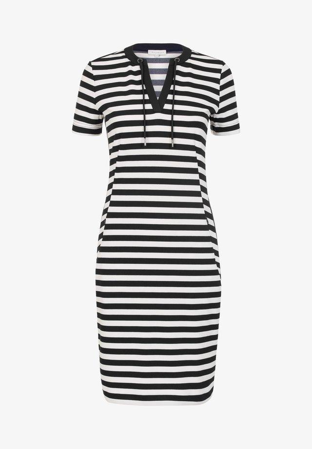 DASTRIPE - Shift dress - black
