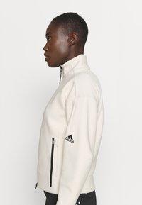 adidas Performance - ZNE MOTHER - Zip-up sweatshirt - white - 4