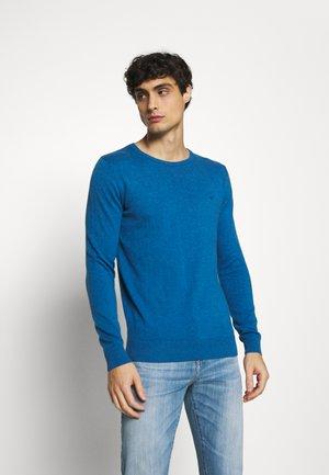 Sweter - royal blue melange