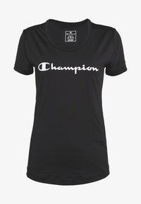 Champion - CREWNECK - Triko spotiskem - black - 5
