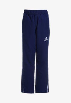 CORE - Pantalones deportivos - darkblue/white