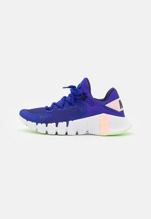 FREE METCON 4 - Sports shoes - concord/blackened blue/crimson tint/lime glow/white