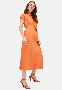 LC Waikiki - KLEID - Maxi dress - orange - 1