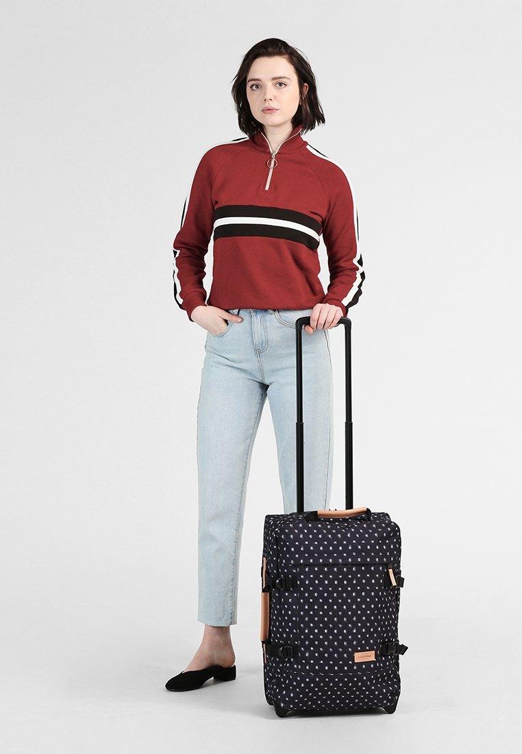 Eastpak - TRANVERZ S AMINIMAL - Wheeled suitcase - check bleach