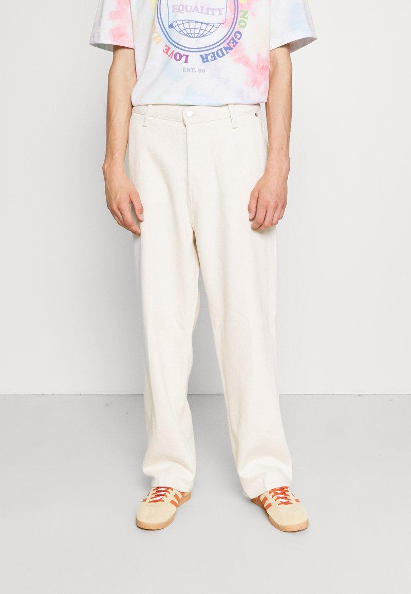 Weekday - GALAXY  - Straight leg jeans - washed ecru