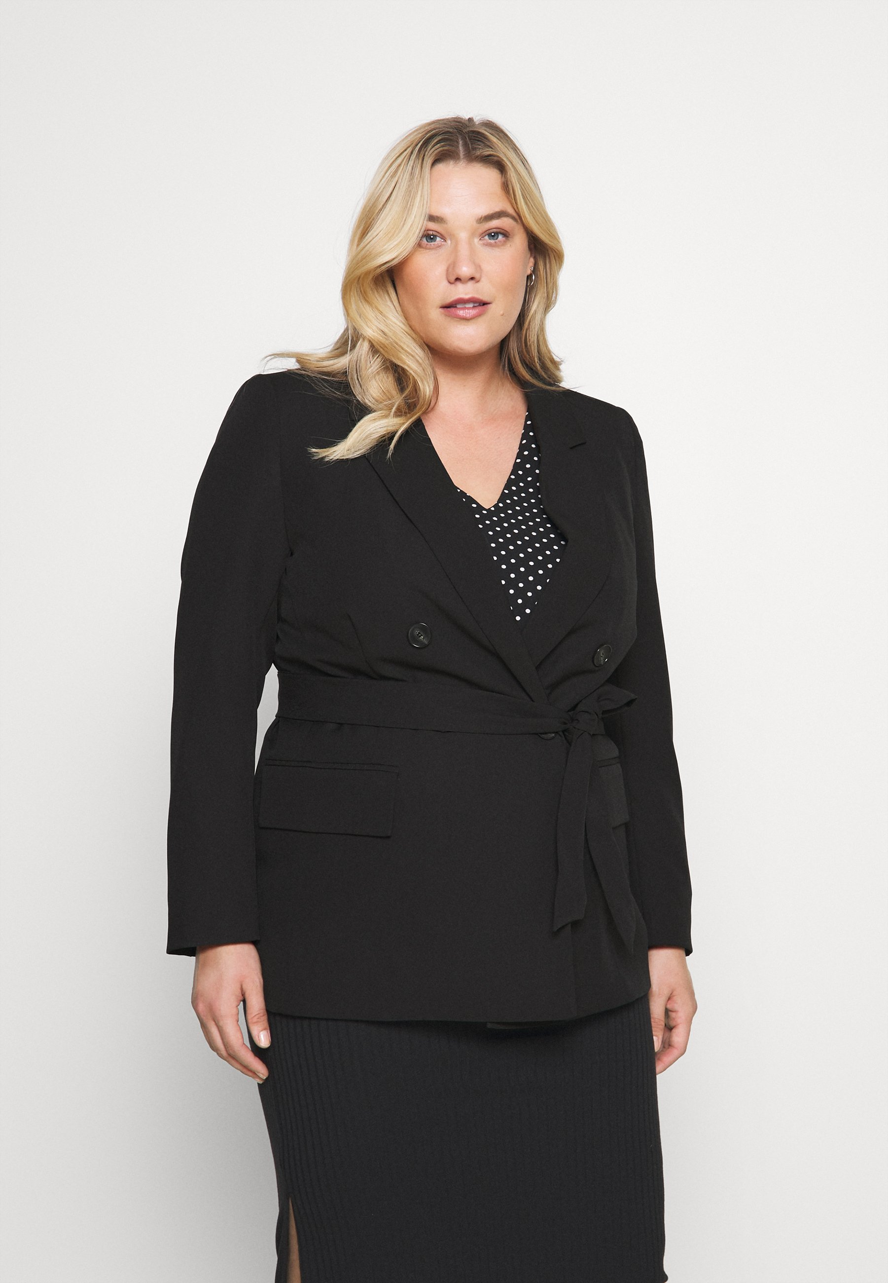 Femme CARMAYA BELTED - Blazer