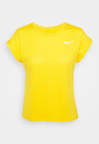 Basic T-shirt - university gold/white
