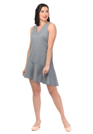 DRESS SMART - Korte jurk - gray