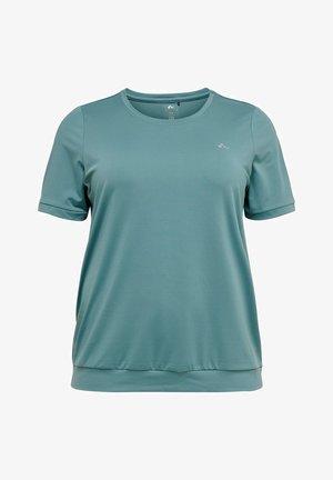 LOCKERE CURVY - Basic T-shirt - goblin blue