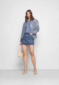 Fashion Union - NORA CARDI - Cardigan - blue texture - 1