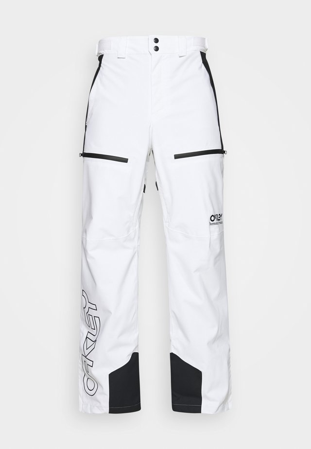 LINED SHELL PANT - Pantaloni da neve - white