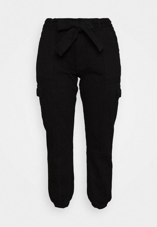 UTILITY TROUSER - Pantalones - black