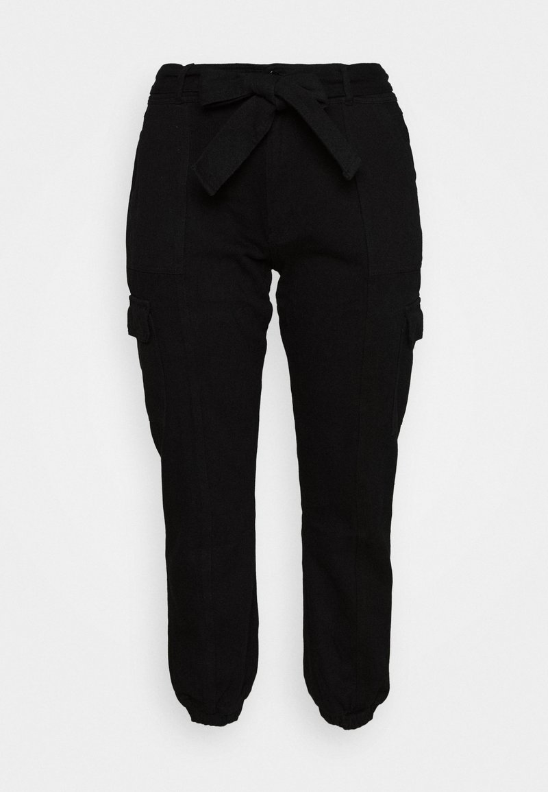 Glamorous Curve - UTILITY TROUSER - Bukse - black