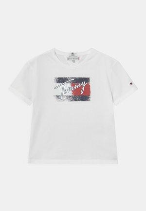 FLAG - T-shirt con stampa - white