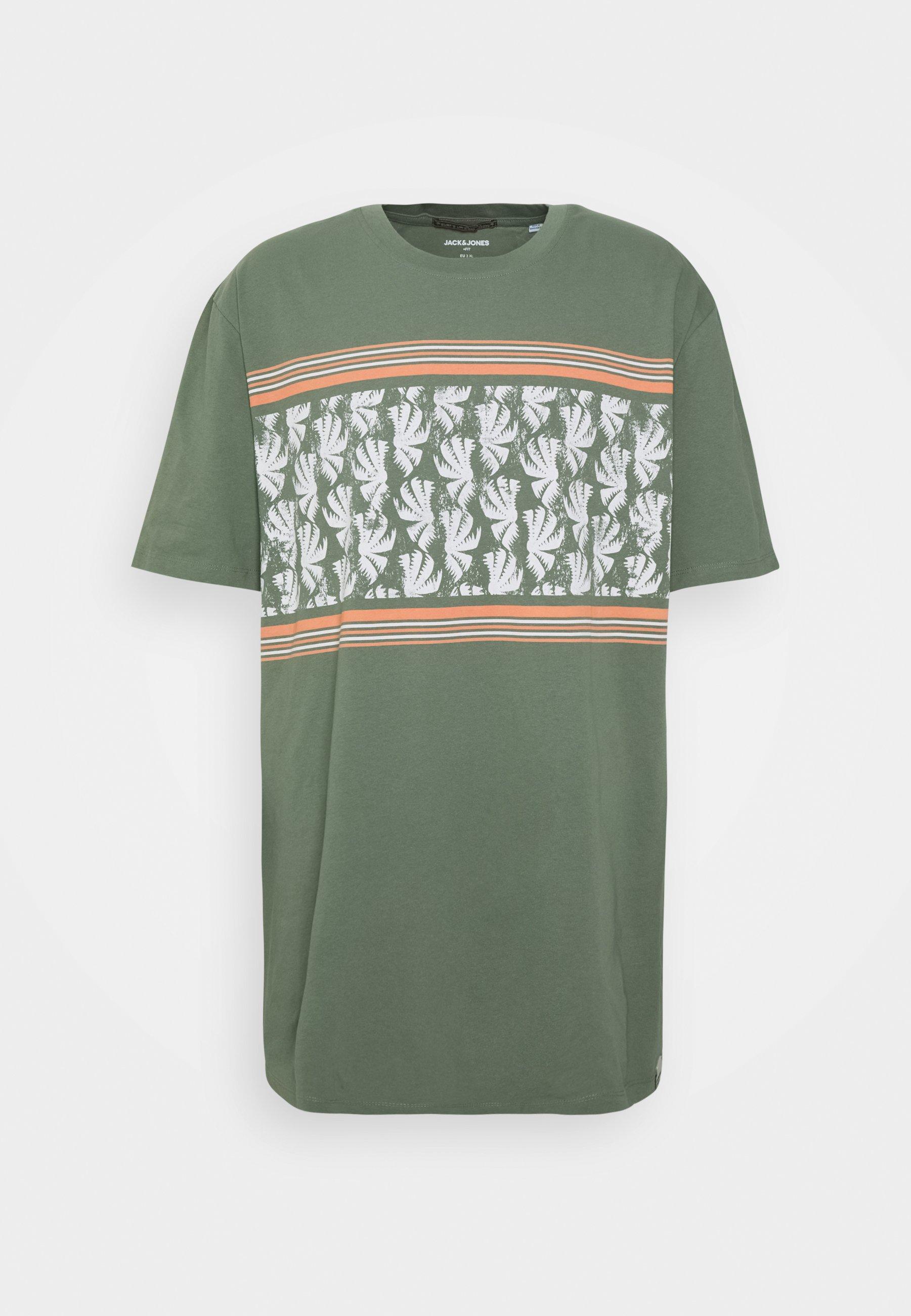 Men JORSUNNYS TEE CREW NECK - Print T-shirt