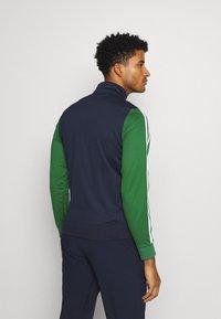 Lacoste Sport - TENNIS JACKET - Veste de survêtement - navy blue/green - 2