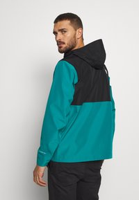 The North Face - MEN'S ARQUE JACKET - Hardshellová bunda - fanfare green/black - 2
