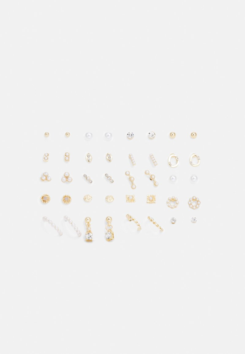 ALDO - FAELIA 20 PACK - Earrings - clear/gold-coloured