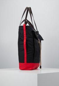 Marni - Shopping bag - black/red/brown - 4