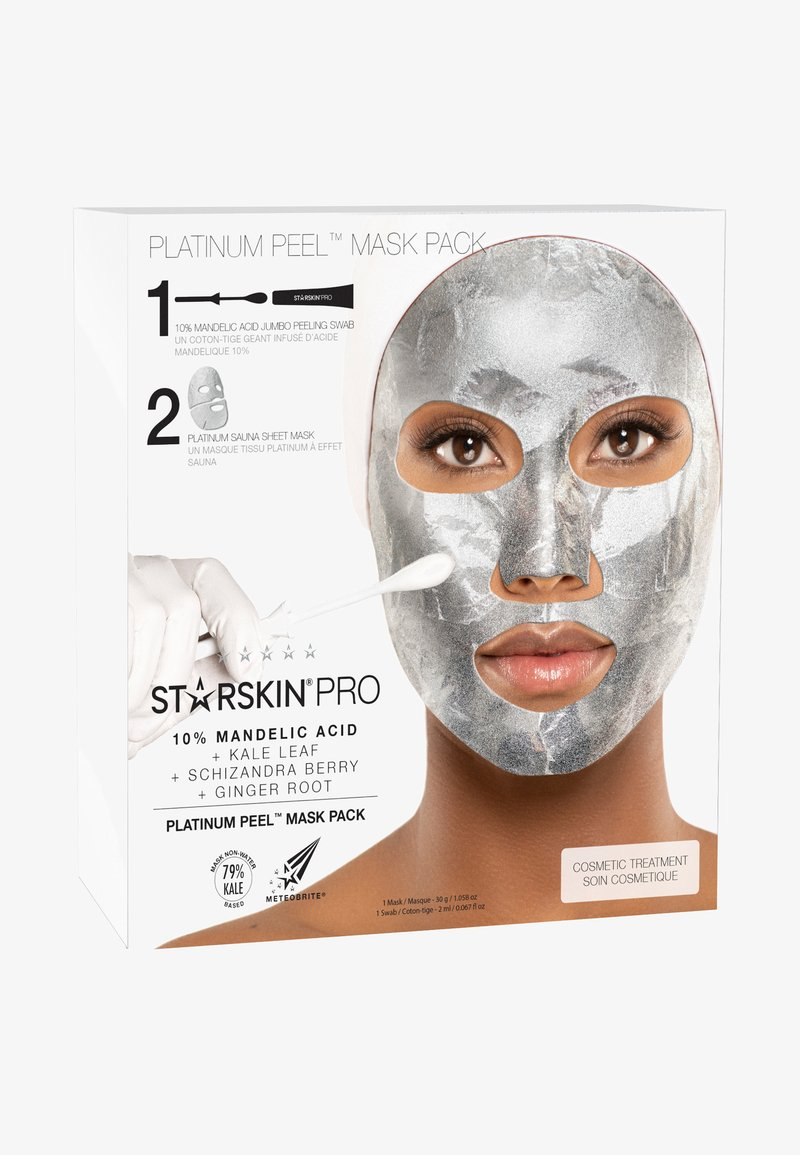 STARSKIN - PLATINUM PEEL MASK PACK - Skincare set - -