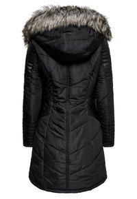 ONLY - ONLLINETTE HOOD COAT - Winter coat - black - 1