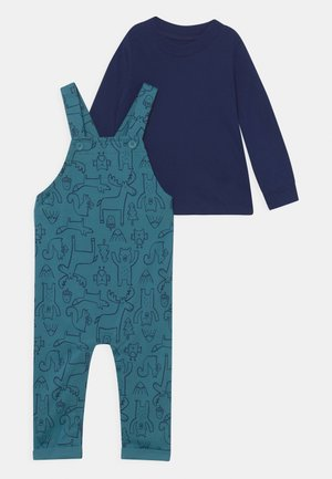 OVERALL WILDERNESS SET - Dungarees - blue