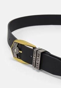 Versace Jeans Couture - Cinturón - black/gold-coloured/silver-coloured - 3