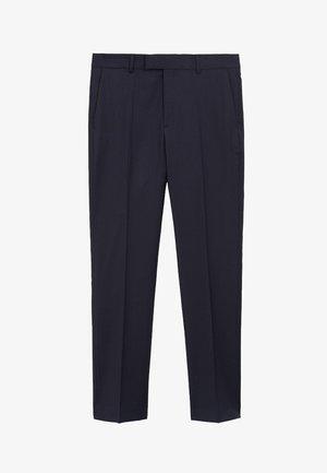 MILANO - Suit trousers - dunkles marineblau
