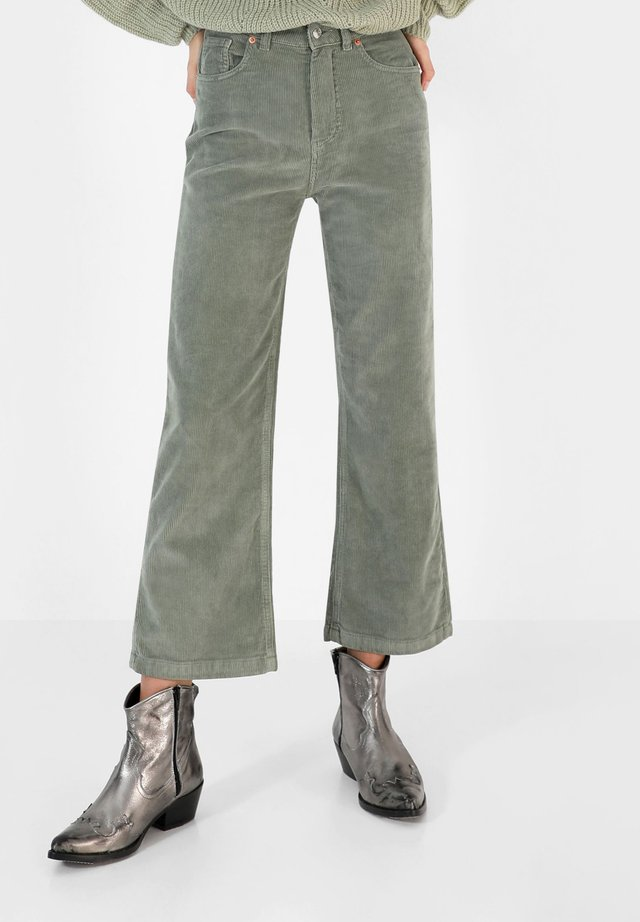 CORDUROY  - Trousers - light green