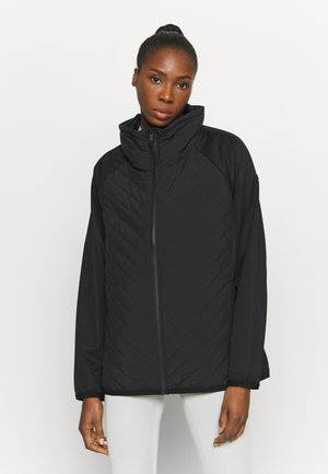 WOMAN HYBRID JACKET - Chaqueta outdoor - nero