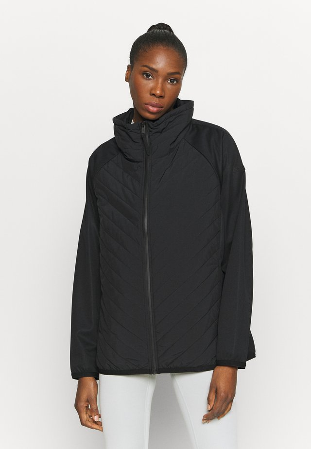 WOMAN HYBRID JACKET - Giacca outdoor - nero