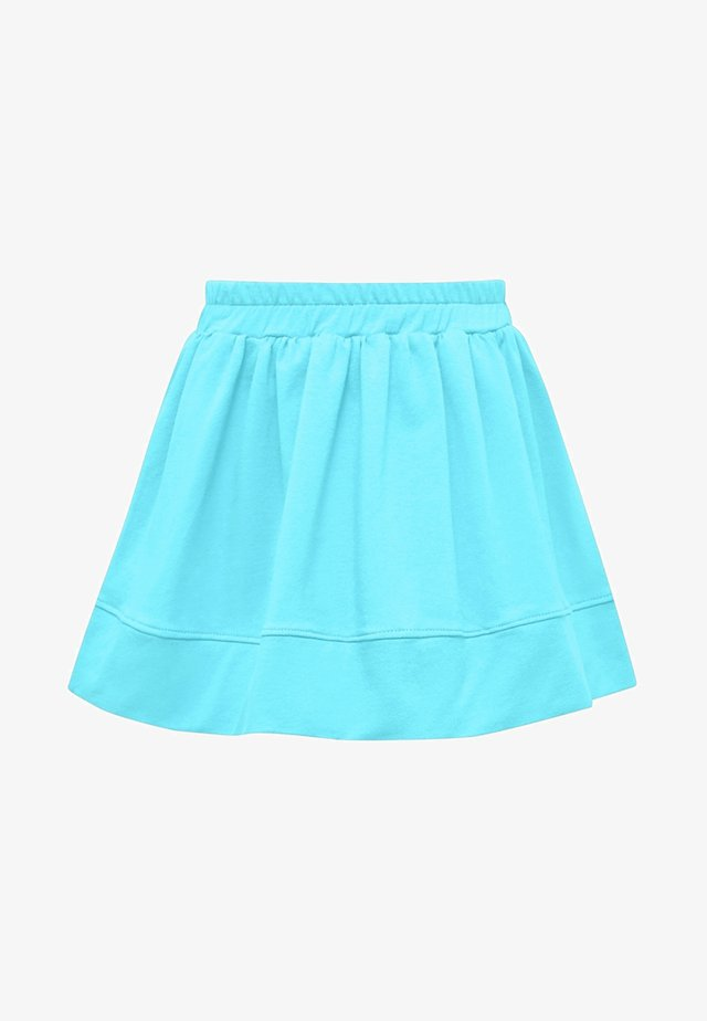 A-line skirt - turquoise
