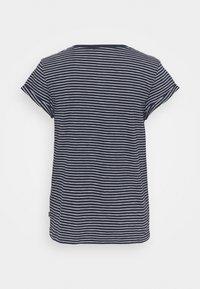 edc by Esprit - CORE - Print T-shirt - dark blue - 1
