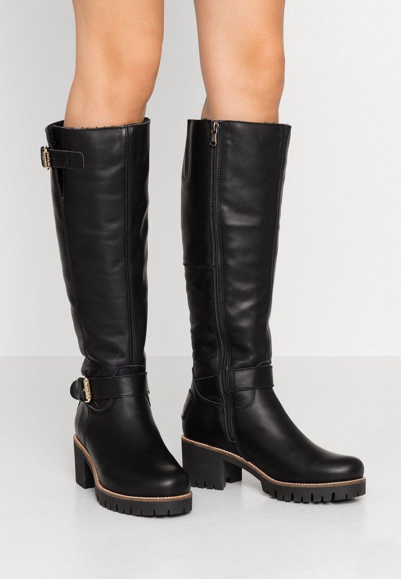 Panama Jack - PHAEDRA IGLOO TRAVELLING - Vysoká obuv - black