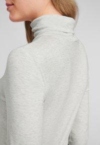 s.Oliver - Long sleeved top - cream melange - 3