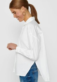 ONLY - Button-down blouse - white - 4