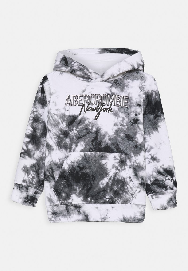 Abercrombie & Fitch - POLAR HOODED  - Sudadera - white