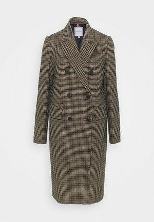BLEND PATTERN COAT - Classic coat - beige