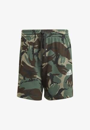 CAMOUFLAGE SHO ESSENTIALS SPORTS REGULAR SHORTS - Sports shorts - green