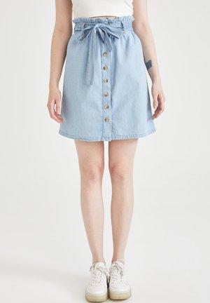 PAPERBAG  - A-line skirt - blue