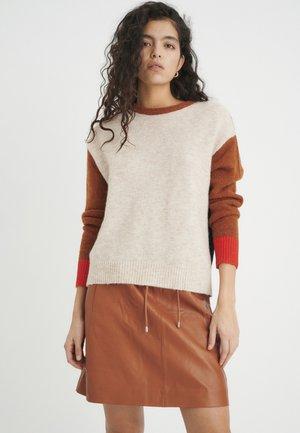 TESSAIW  - Pullover - tabac multi block