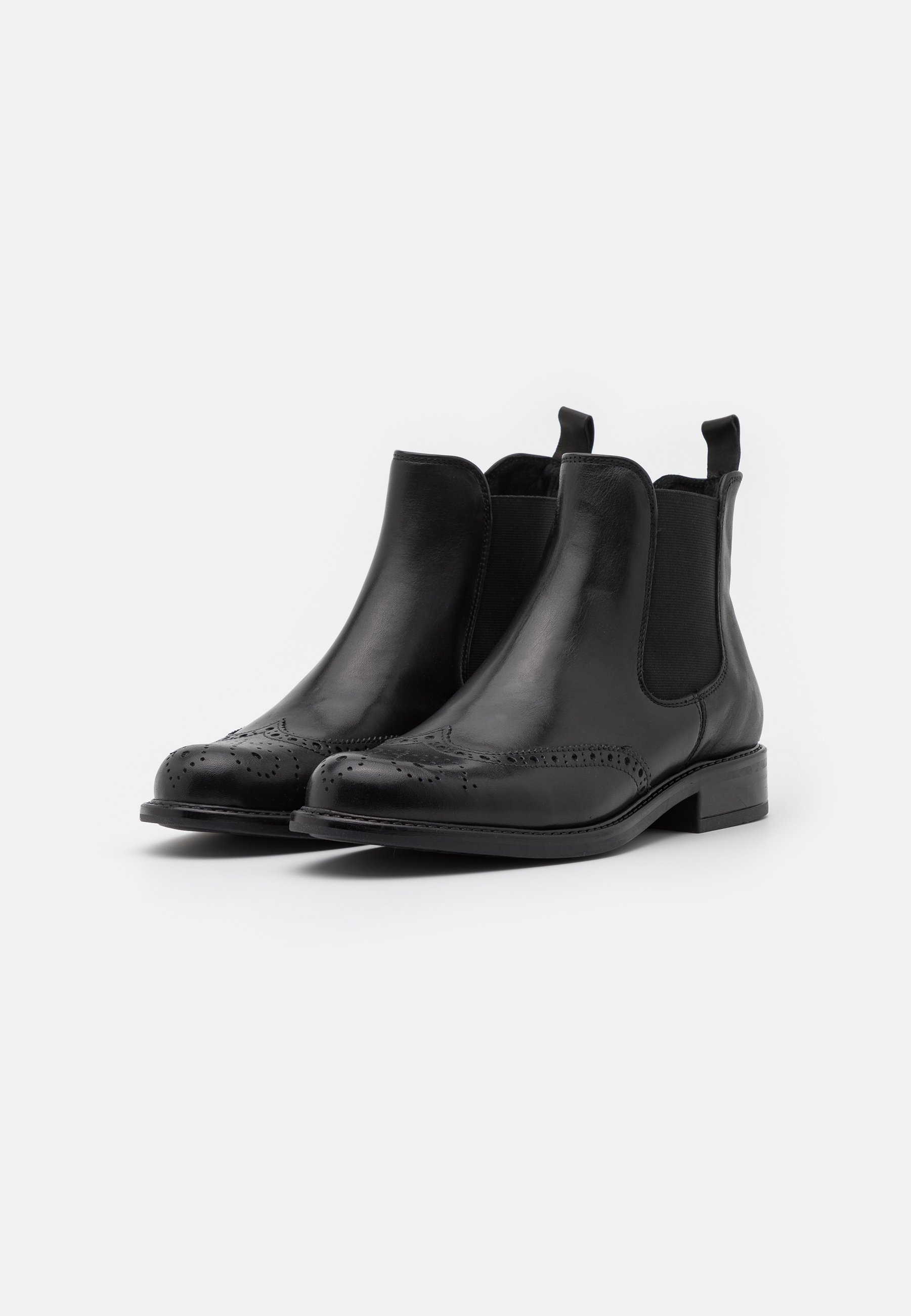 Jonak TRIM - Bottines - cuir/noir - Bottines Femme Designer