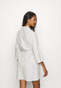 Anna Field - Dressing gown - light grey - 2